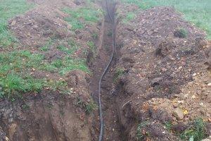 Přípojka dlouhá 350 metrů