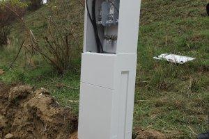 Instalace kabelové skříně
